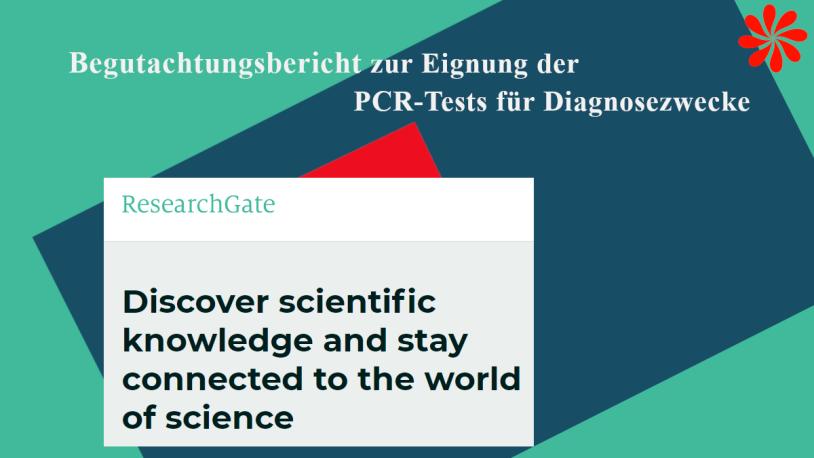 Begutachtungsbericht zur Eignung von PCR-Tests zu Diagnosezwecken
