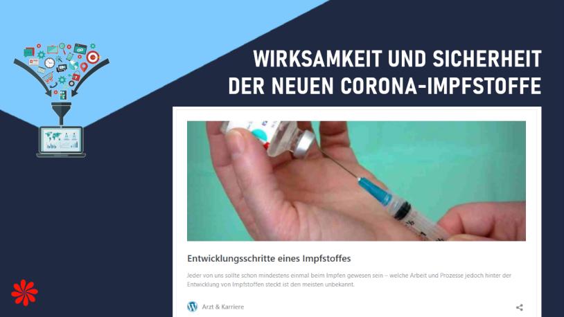 Wirksamkeit und Sicherheit der neuen Corona-Impfstoffe